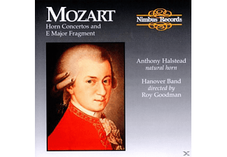 Goodman, The Hanover Band, Anthony Halstaed - Sämtliche Hornkonzerte 1-4 (GA) - (CD)