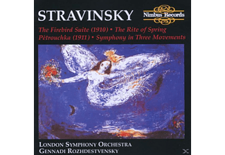 London Symphony, Roshdestwenskij - Firebird/Petrouchka - (CD)