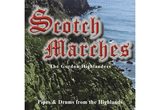 The Gordon Highlers - Scotch Marches [CD]