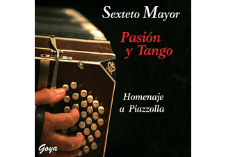 Sextete Mayor - Homenaje A Piazzolla [CD]