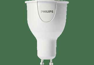 philips hue 6 5w gu10 rgb einzelspot led dimmbar app gesteuerte vernetzte heimbeleuchtung. Black Bedroom Furniture Sets. Home Design Ideas