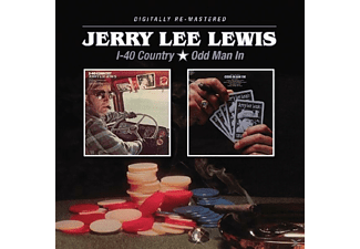 Jerry Lee Lewis - I-40 Country/Odd Man In - (CD)