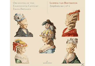 Orchestra Of The 18th Century, Frans Brüggen - Sinfonien 5 & 6 - (CD)