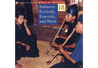 VARIOUS - Music Of Indonesia, Vol.18: Sulawesi: Festivals, - (CD)