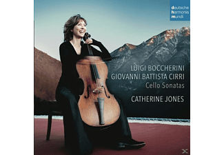Catherine Jones - Boccherini & Cirri: Cello Sonatas [CD]