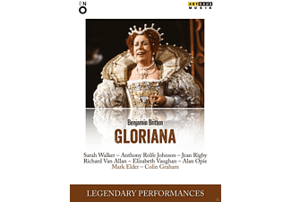 Elizabeth Vauhan, Jean Rigby, Sarah Walke Walker, Anthony Rolfe-johnson, Richard Van Allan - Gloriana - (DVD)
