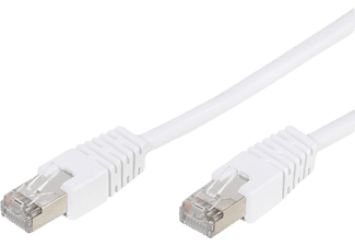 VIVANCO 45332 CC N4 30 CAT 5 RJ-45 3 m Network Kablosu Beyaz