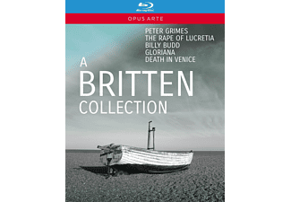 John Graham-hall, Susan Gritton - A Britten Collection - (Blu-ray)