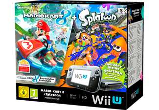 nintendo wii u mario kart 8 splatoon premium pack. Black Bedroom Furniture Sets. Home Design Ideas