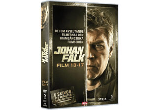 Johan Falk 13-17 Box Thriller DVD