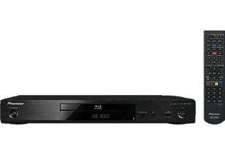 PIONEER BDP-180K 3D Blu-ray Player (Schwarz)
