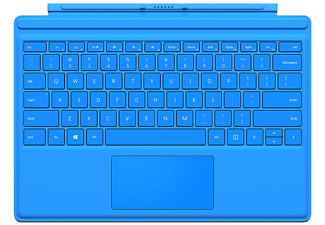 MICROSOFT Surface Pro 4 Type Cover Blauw
