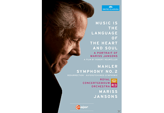 Ricarda Merbeth, Bernarda Fink, Netherlands Radio Choir, Royal Concertgebouw Orchestra - Music Is The Language Of The Heart And Soul - (DVD)