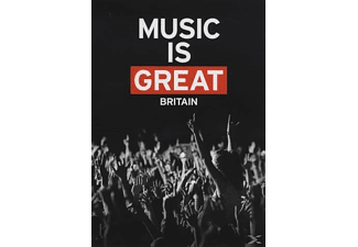 VARIOUS - Music Is Great Britain - (DVD)