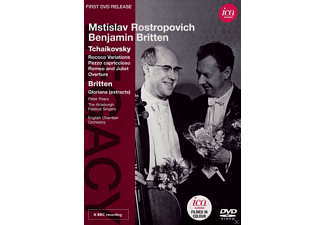 The Aldeburgh Festival Singers, English Chamber Orchestra, Pears Peter - Mstislav Rostropovich / Benjamin Britten - (DVD)