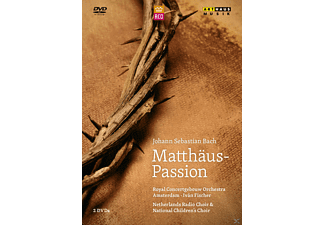 Netherlands Radio Choir, National Children's Choir, Royal Concergebouw Orchestra Amsterdam - Matthäus-Passion - (DVD)