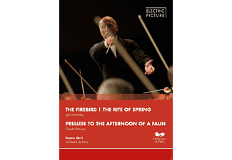 Orchestre De Paris - The Firebird / The Rite Of Spring / Prelude To The Afternoon Of A Faun - (DVD)