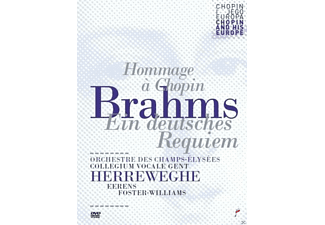 Collegium Vocale Gent, Orchestre Des Champs-elysees - Brahms: Ein Deutsches Requiem - (DVD)