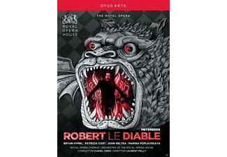 Bryan Hymel, John Relyea, Marina Poplavskaya, Royal Opera Chorus, Patrizia Ciofi, Orchestra Of The Royal Opera House - Robert Le Diable - (DVD)
