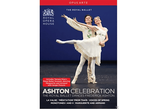 Royal Ballet London, Orchestra Of The Royal Opera House - Ashton Celebration - (DVD)