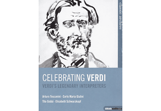 VARIOUS - Celebrating Verdi - Verdi's Legendary Interpreters - (DVD)