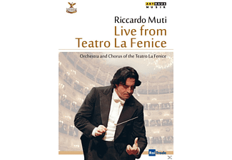 Orchestra and Chorus of the Teatro La Fenice - Live From Teatro La Fenice (Reopening Concert, December 14, 2003) - (DVD)