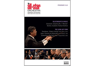Xiayin Wang, Julian Schwarz, Yevgeny Kutik, The All-star Orchestra - The All Star Orchestra - Programs 5&6: Relationships In Music / The Living Art Form - (DVD)