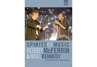 Bobby McFerrin, Nigel Kennedy, VARIOUS - Spirits Of Music: Bobby Mcferrin & Nigel Kennedy (Live In Leipzig, 2002) [DVD]