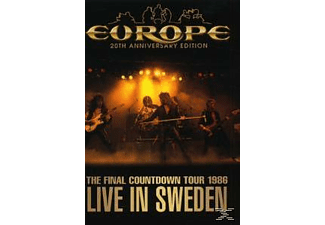 Europe - Live In Sweden-20th Anniversary Edition - (DVD)