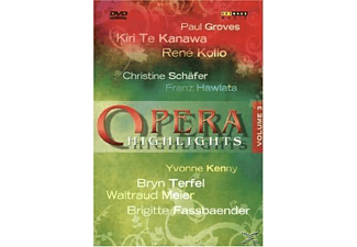 - Various Composers - Opera Highlights Vol. III (Te Kanawa) - (DVD)