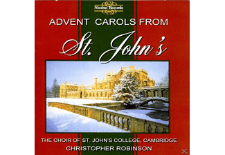 Robinson/Choir Of St.Johns College - Advent Carols From St.Johns - (CD)