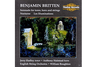 Boughton,William/ESO/Hadley,Jerry - Serenade for tenor,horn&strings/Noturne/Les illumi - (CD)