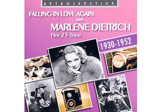 Marlene Dietrich - Falling In Love Again With Marlene Dietrich [CD]