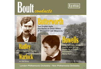 DOWNES, EASTWOOD, ., LONDON PHILH. - Boult conducts Butterworth/Howe - (CD)