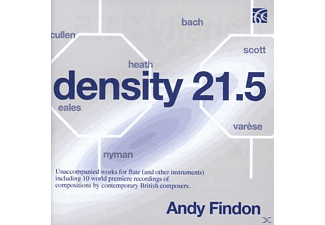 Findon - Density 21.5-Unaccompanied Work - (CD)