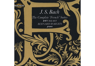 Bernard Roberts - Bach French Suites Cpl. - (CD)