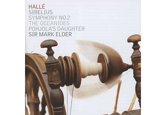 The Halle Orchestra - Symphony No.2 / Pohjola's Daugter / The Oceanides - (CD)