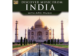 VARIOUS - Discover Music From India-With Arc Music [CD]