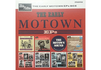 VARIOUS - The Early Motown Eps Vinyl Box Set (Ltd.Edt.) - (Vinyl)