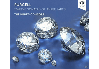 The King's Consort - Twelve Sonatas of three parts - (CD)