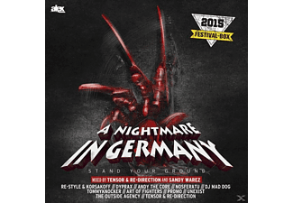 VARIOUS - A Nightmare In Germany Stand Your Ground [CD]