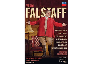 Ambrogio Maestri, James Levine - Falstaff (DVD)