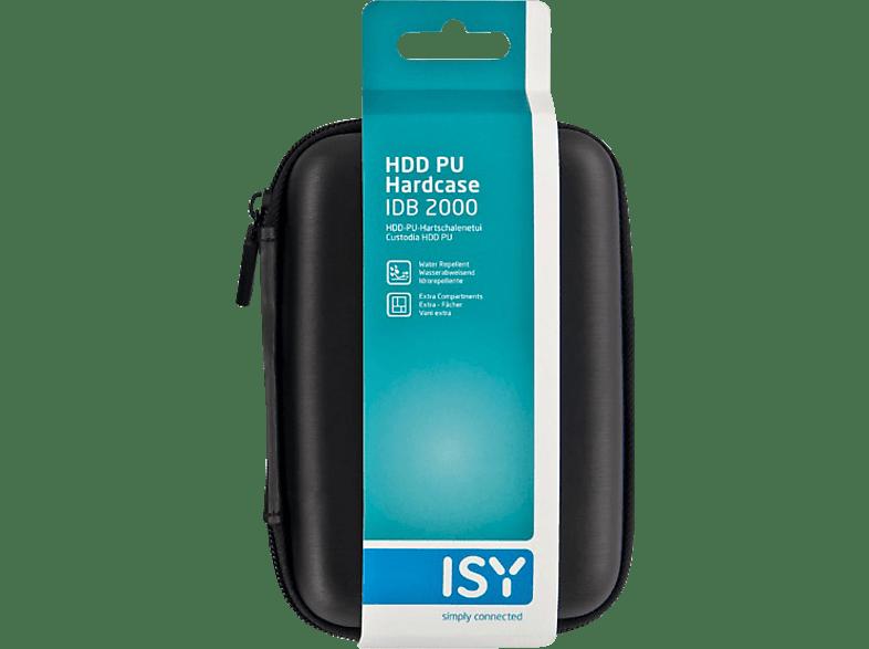 ISY IDB 2000 2,5 HDD PU HARDCASE BLACK - (501070) laptop  tablet  computing  αποθήκευση δεδομένων θήκες για σκληρούς δίσκους