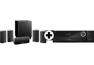 harman kardon 5 1 heimkino system hdcom 1515 s avr 151s. Black Bedroom Furniture Sets. Home Design Ideas