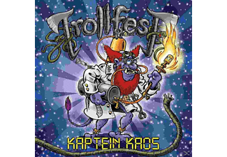 Trollfest - Kaptein Kaos (Ltd.Cd+Bonus Dvd [CD]