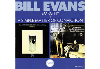 Bill Evans - Empathy + a simple matter of conviction - (CD)