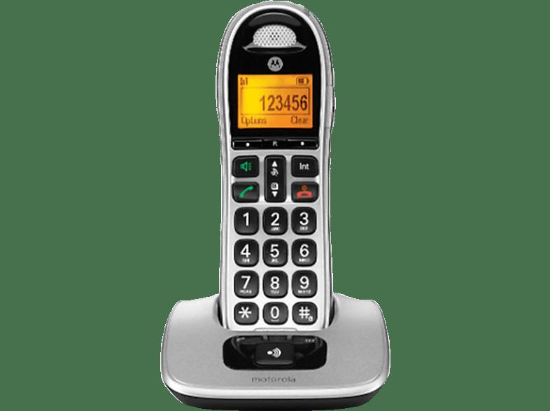 MOTOROLA CD301 DECT Silver τηλεφωνία   πλοήγηση   offline σταθερά τηλέφωνα ασύρματα τηλέφωνα βιβλία για το