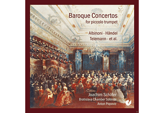 Bratislava Chamber Soloists, Schäfer Joachim - Baroque Concertos For Piccolo Trumpet [CD]