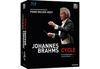 Julia Fischer, Yefim Bronfman, The Cleveland Orchestra - Johannes Brahms: Cycle - (Blu-ray)