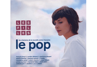 VARIOUS - Le Pop-Les Filles - (CD)